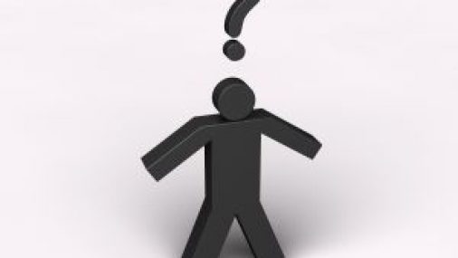Standing Man with question mark for life insurance definition